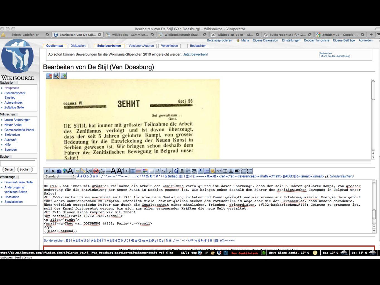 """Beispiele freie & quelloffene Software """"Wikiprojekte Wikipedia, OpenStreetMap Wikimedia Commons Wikisource Wikibooks"""