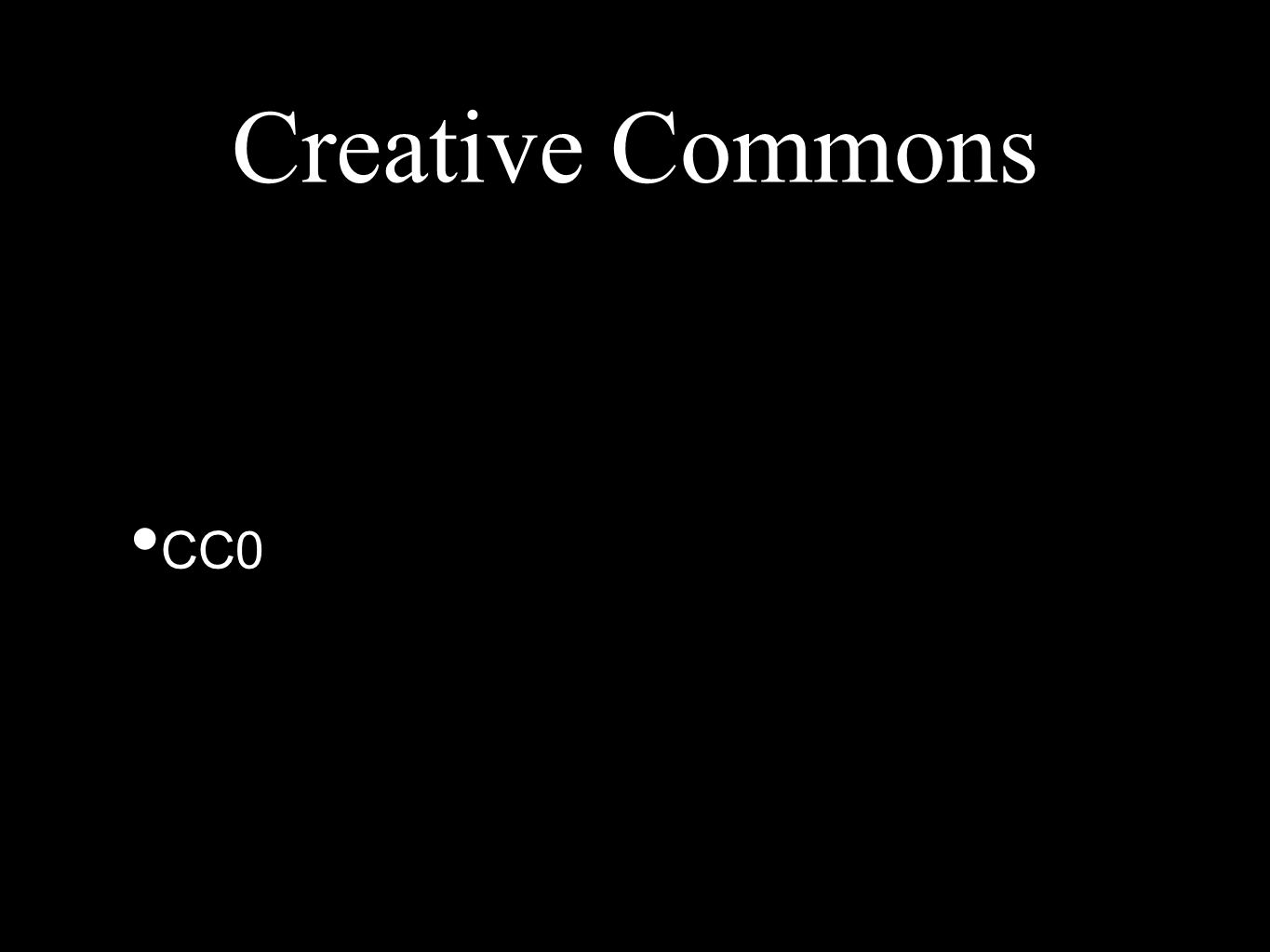 Creative Commons CC0