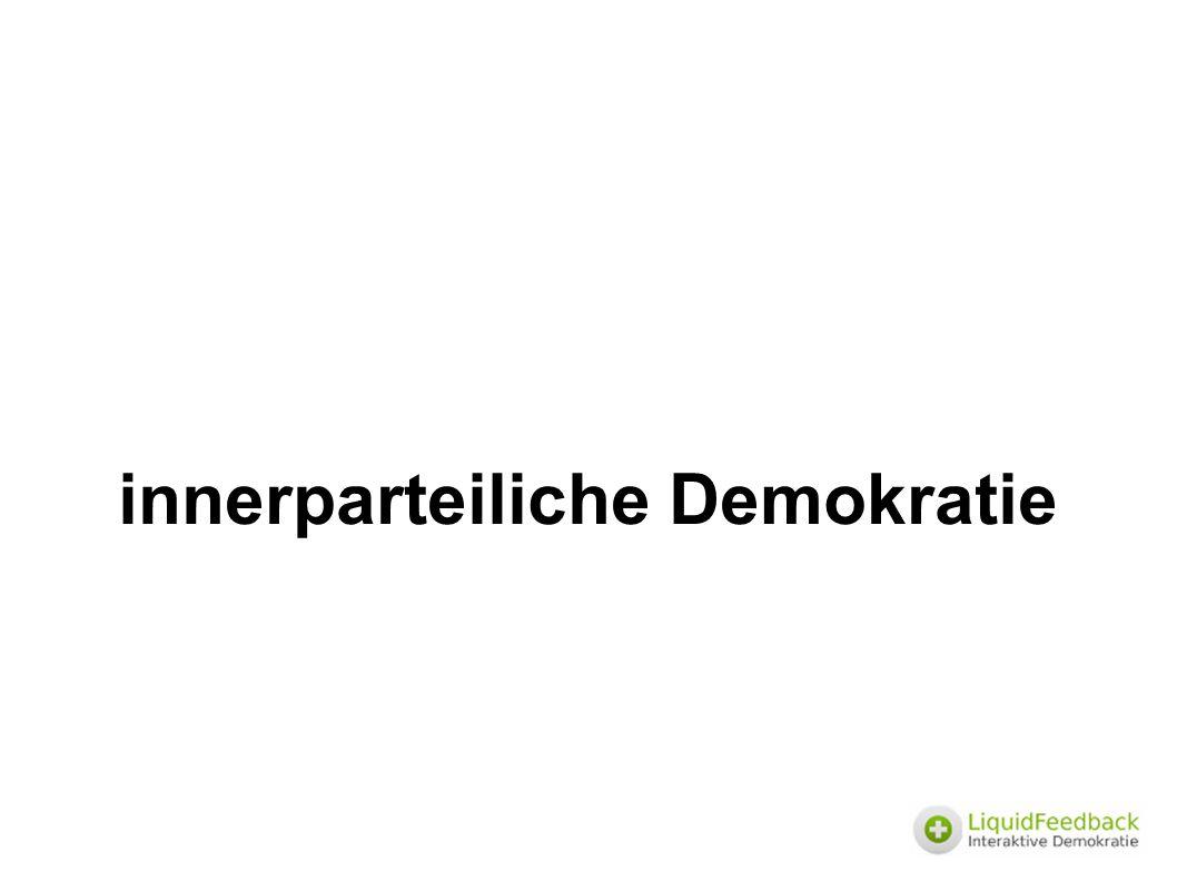 Geheimhaltung und Offenlegung ● nach der Wahl – Veröffentlichung des Ergebnisses – Offenlegung aller Abstimmdaten (wer hat mit wessen Vollmachten wie abgestimmt) ● während der Abstimmung – organisatorisch sichergestellte Geheimhaltung des Zwischenergebnisses zur Verhinderung von Wahlmanipulationen (z.