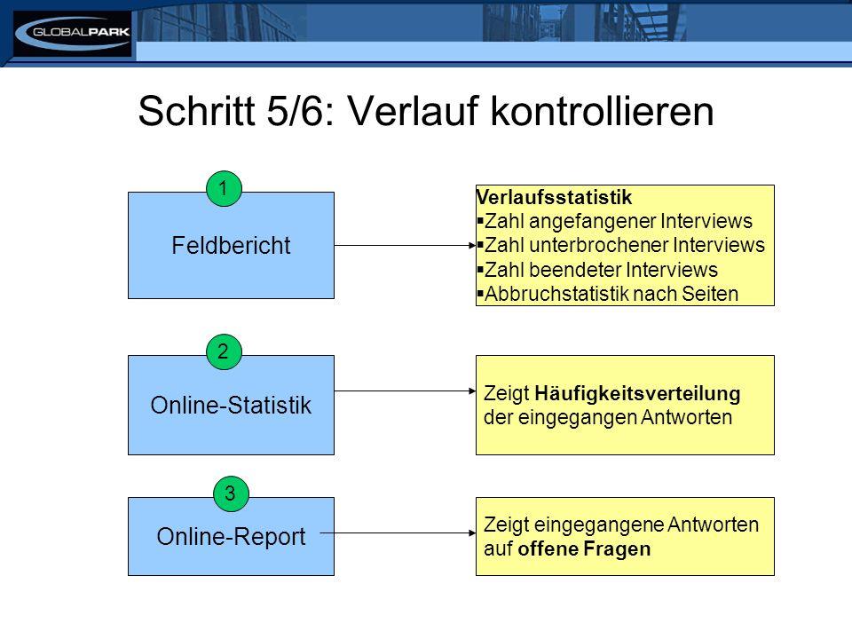 Schritt 6/6: Daten exportieren SPSSCSV/Excel kompletter Datensatz ausgewählte Variablen, z.B.