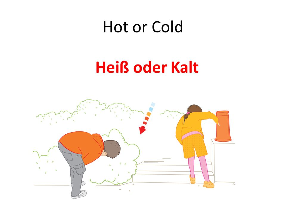 Hot or Cold Heiß oder Kalt