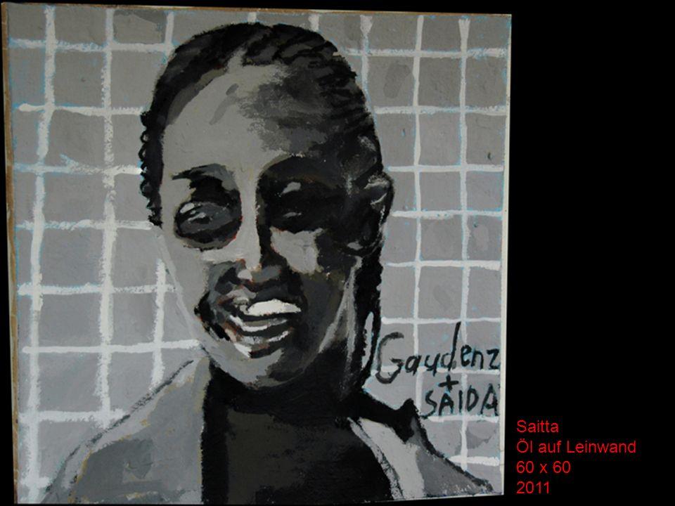 Saitta Öl auf Leinwand 60 x 60 2011