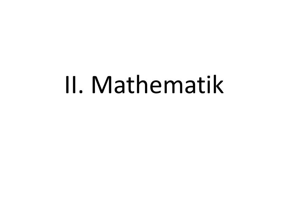 57 II. Mathematik