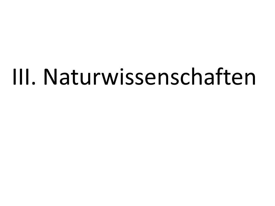 59 III. Naturwissenschaften