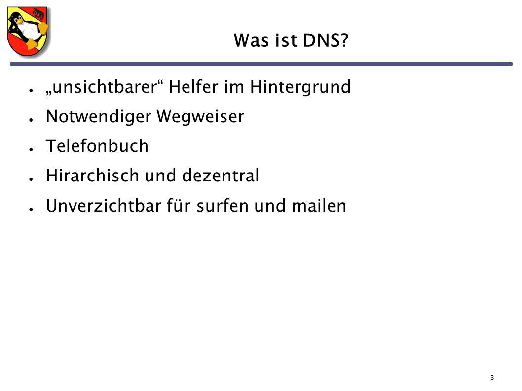 3 Was ist DNS.