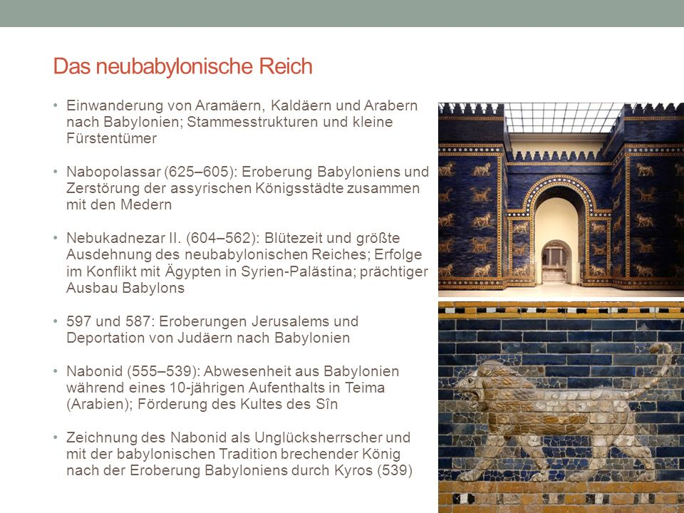 Alter Orient 7. Jh. v. Chr.