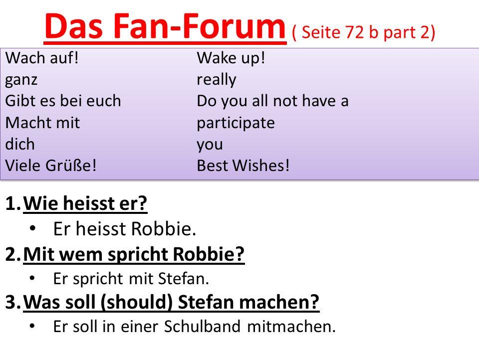 Das Fan-Forum ( Seite 72 b part 2) Wach auf!Wake up.