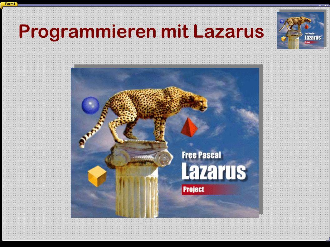 Programmieren mit Lazarus