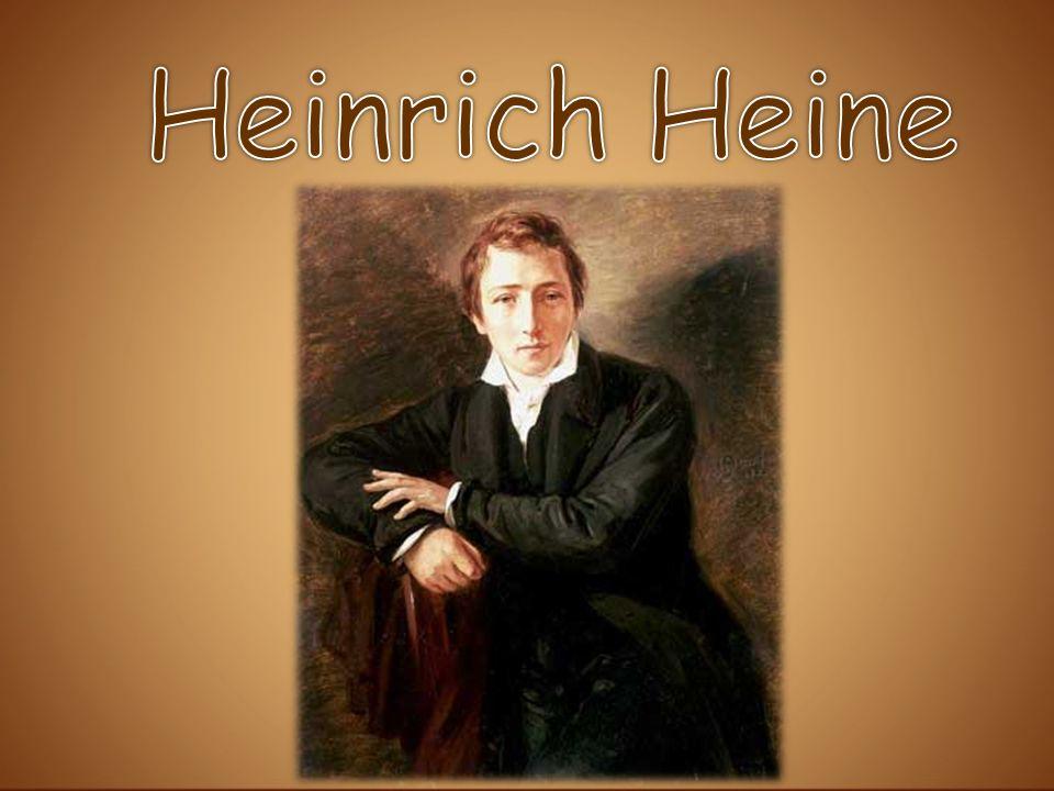 Der größte deutsche Lyriker und Publizist des neunzehnten Jahrhunderts Heinrich Heine wurde am 13.