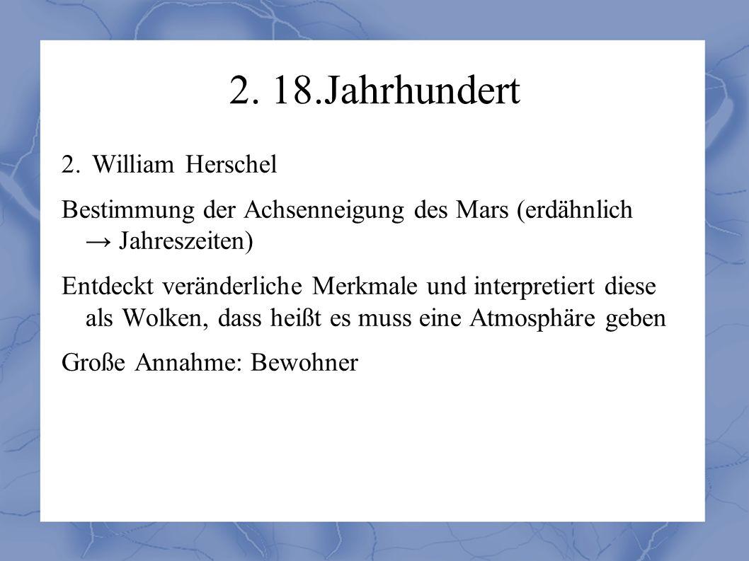 2. 18.Jahrhundert 2.