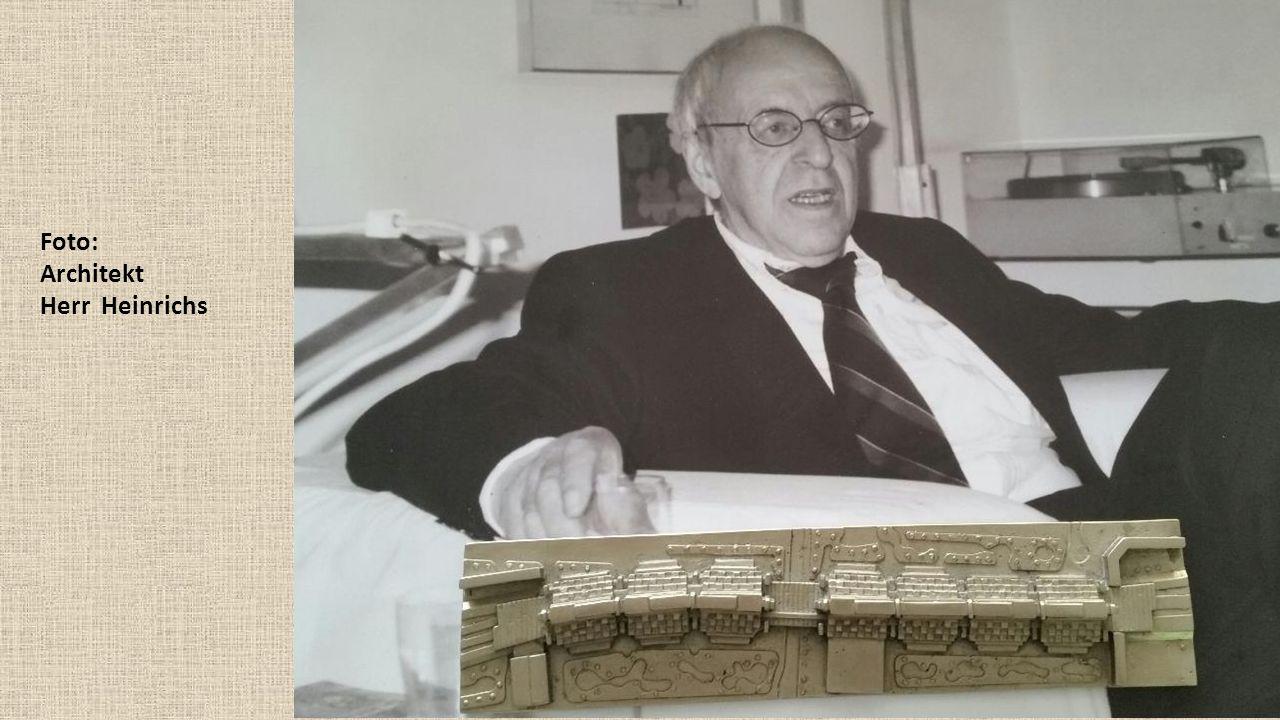Foto: Architekt Herr Heinrichs