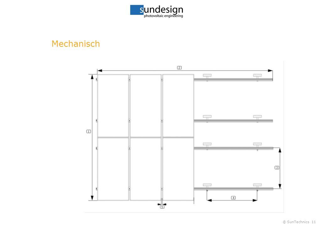© SunTechnics11 Mechanisch