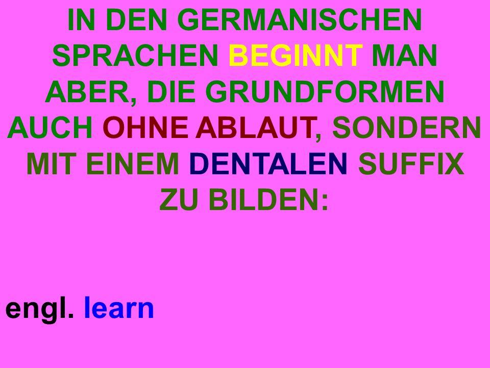 engl. learn