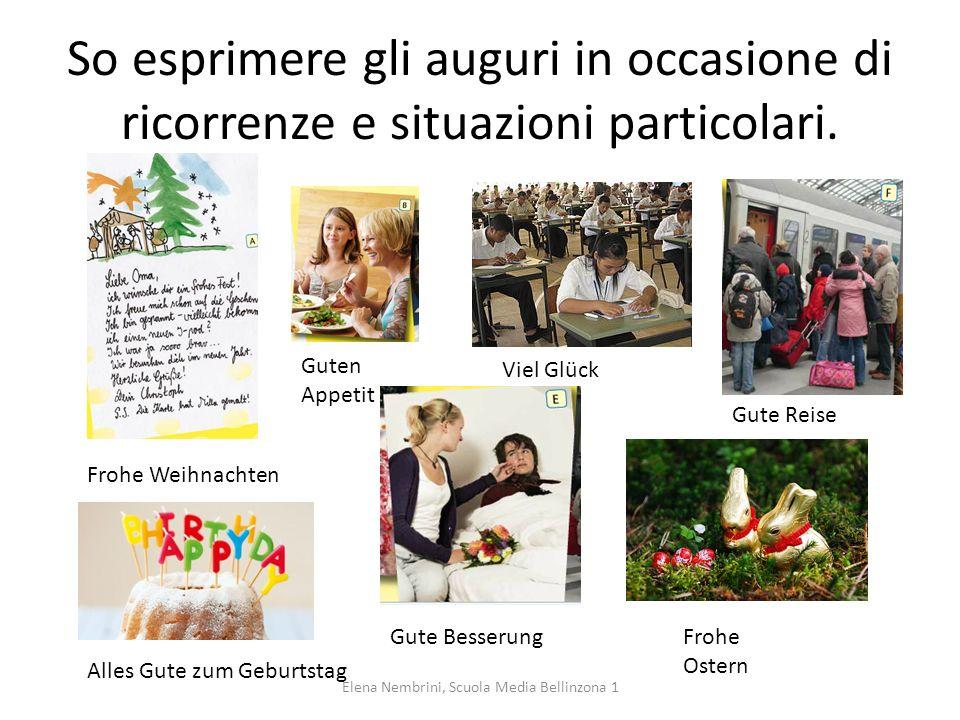 Conosco l'uso delle preposizioni temporali am, um, im. Elena Nembrini, Scuola Media Bellinzona 1