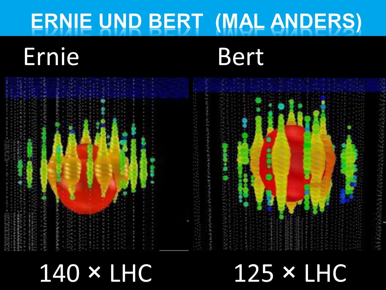Ernie Bert 140 × LHC 125 × LHC
