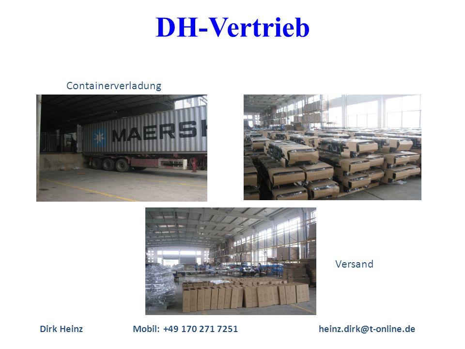 Dirk HeinzMobil: +49 170 271 7251heinz.dirk@t-online.de Containerverladung Versand DH-Vertrieb