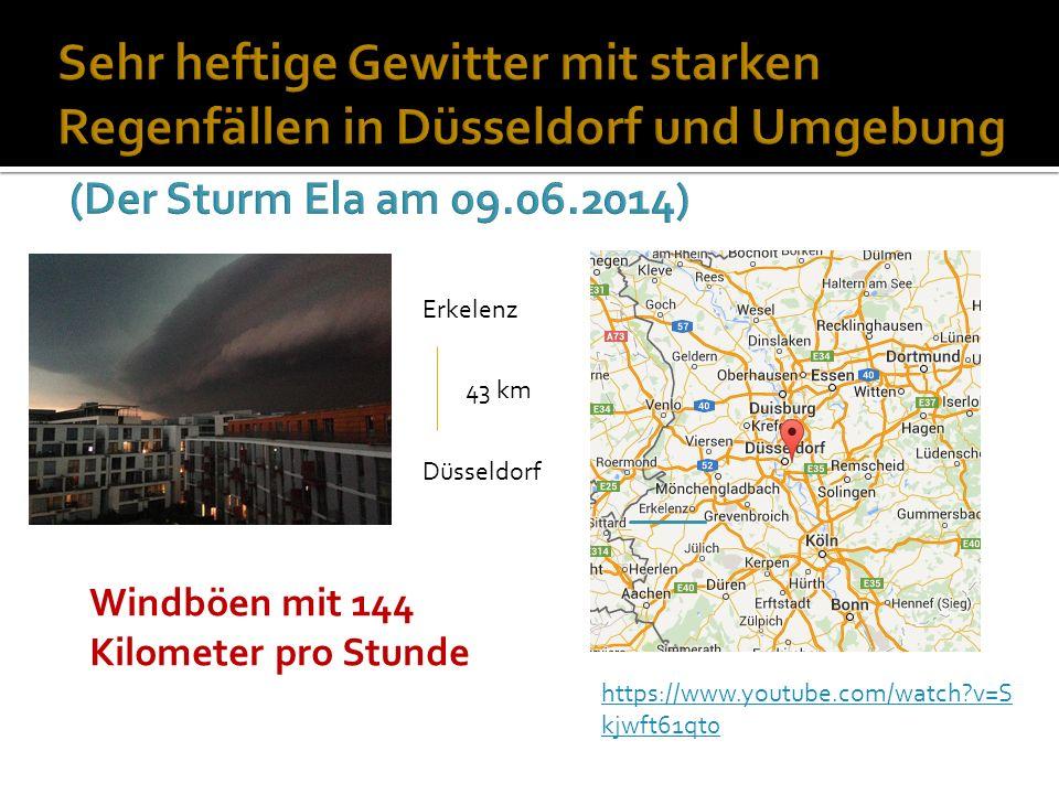 https://www.youtube.com/watch v=S kjwft61qt0 Erkelenz Düsseldorf 43 km Windböen mit 144 Kilometer pro Stunde