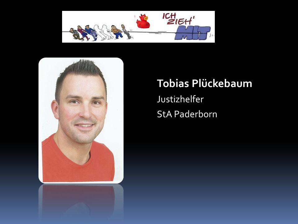 Tobias Plückebaum Justizhelfer StA Paderborn