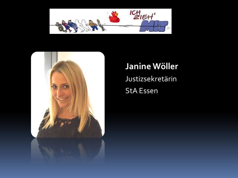 Janine Wöller Justizsekretärin StA Essen