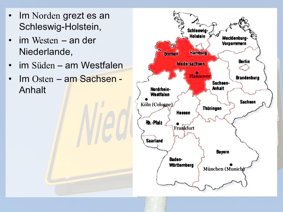 Die Hauptstadt Niedesachsens ist Hannover