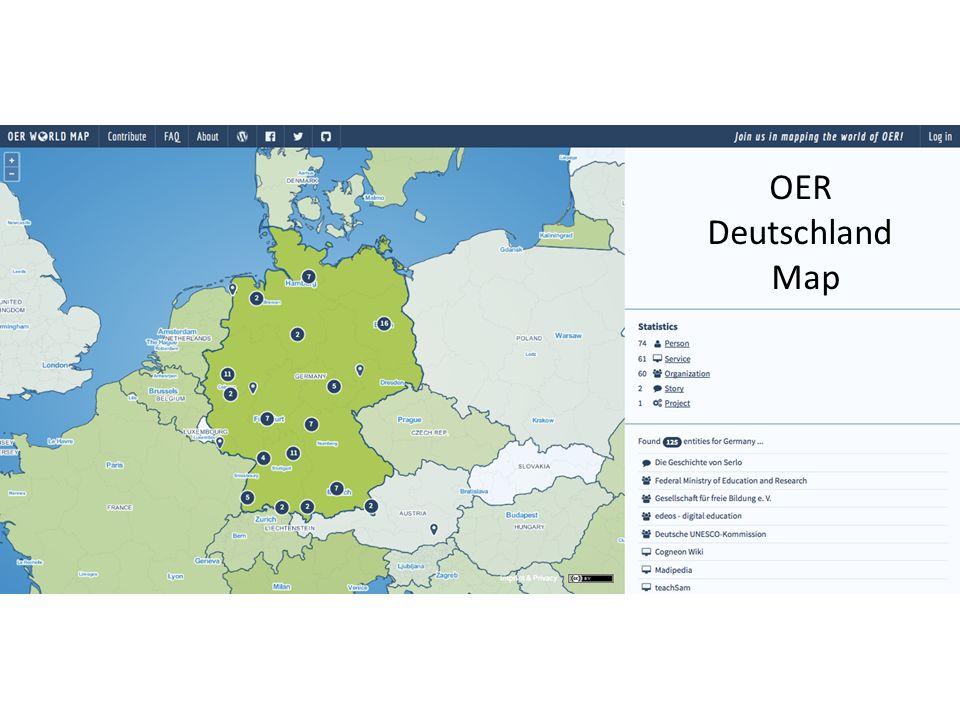 OER Deutschland Map