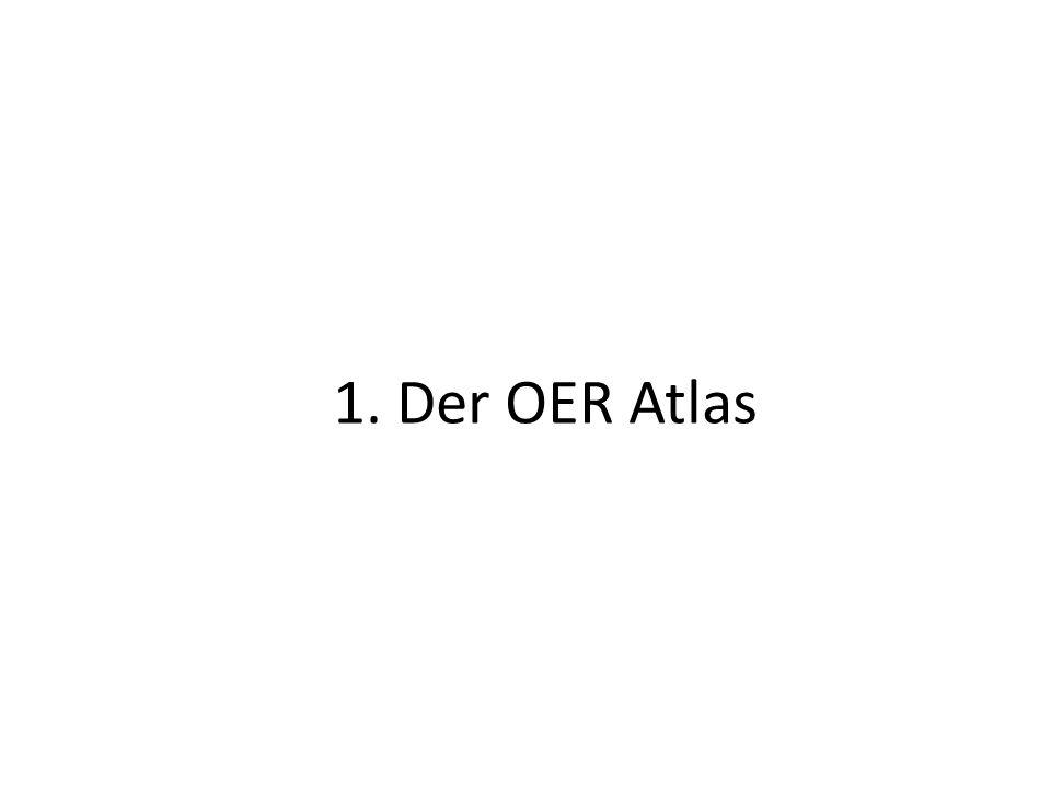 1. Der OER Atlas