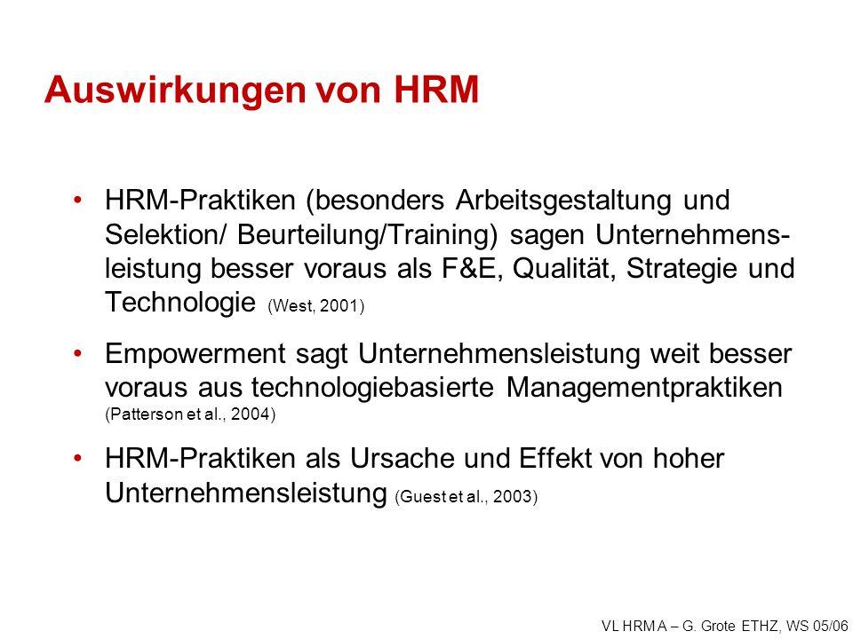 VL HRM A – G.