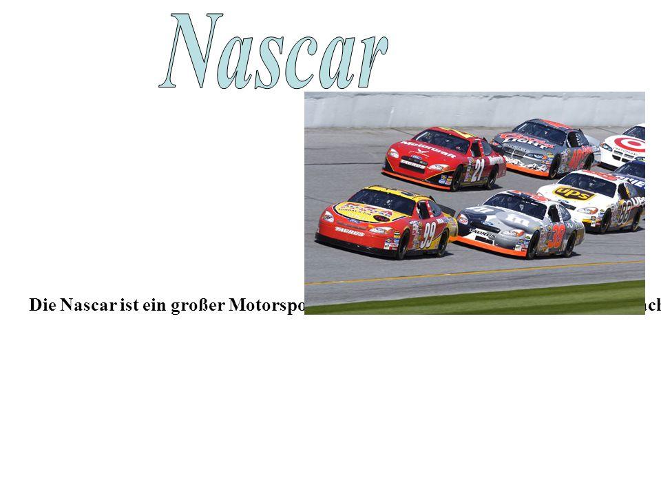 Die Nascar ist ein großer Motorsportverband der USA mit Sitz in Daytona Beach, Florida.