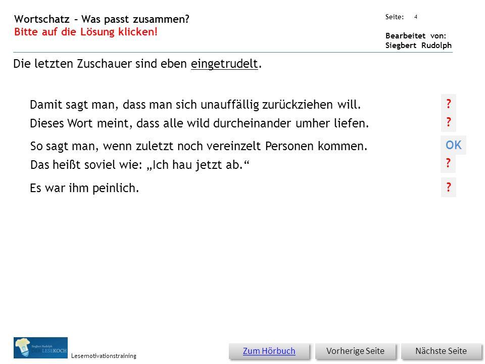 Übungsart: Seite: Bearbeitet von: Siegbert Rudolph Lesemotivationstraining 3 21 Die Megamonstershow – bitte klicken.