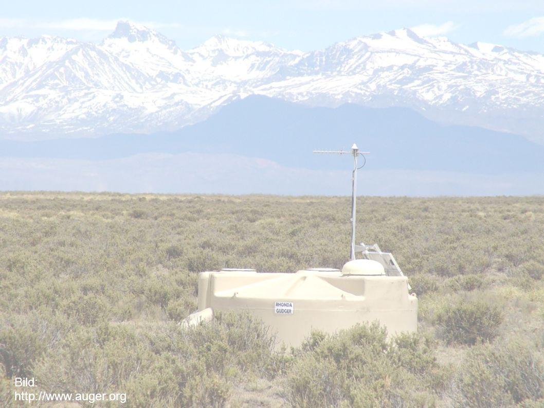 Pierre Auger Observatorium Bild: http://www.auger.org