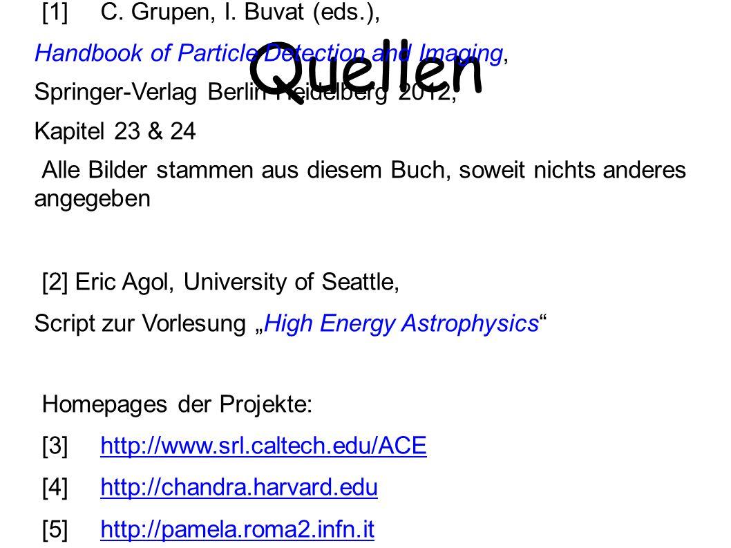 Quellen ● [1]C.Grupen, I.