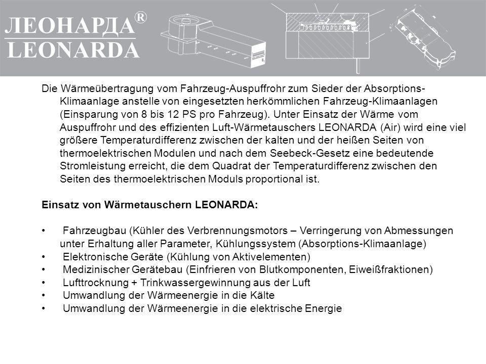 GmbH LEONARDA-SERVICE Tel. +7 (495) 772-65-54 E-mail: leonarda-service@mail.ru