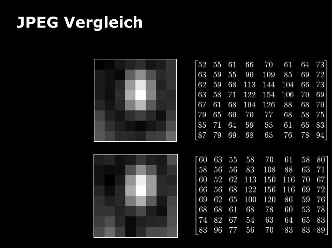 JPEG Vergleich Beispiel Vorh er Nach her