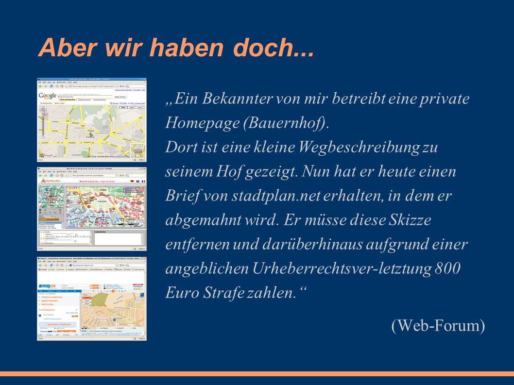 """""""Ein Bekannter von mir betreibt eine private Homepage (Bauernhof)."""