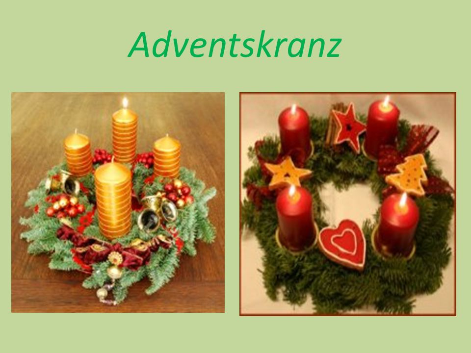  Der Adventskranz wurde 1839 von Johann Hinrich Wichern eingeführt.
