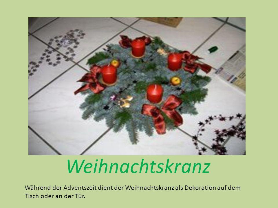 Weihnachtsmann Morgen kommt der Weihnachtsmann, Kommt mit seinen Gaben, Trommel, Pfeife und Gewehr, Fahn und Säbel und noch mehr, Ja ein ganzes Kriegesheer, Möcht ich gerne haben.
