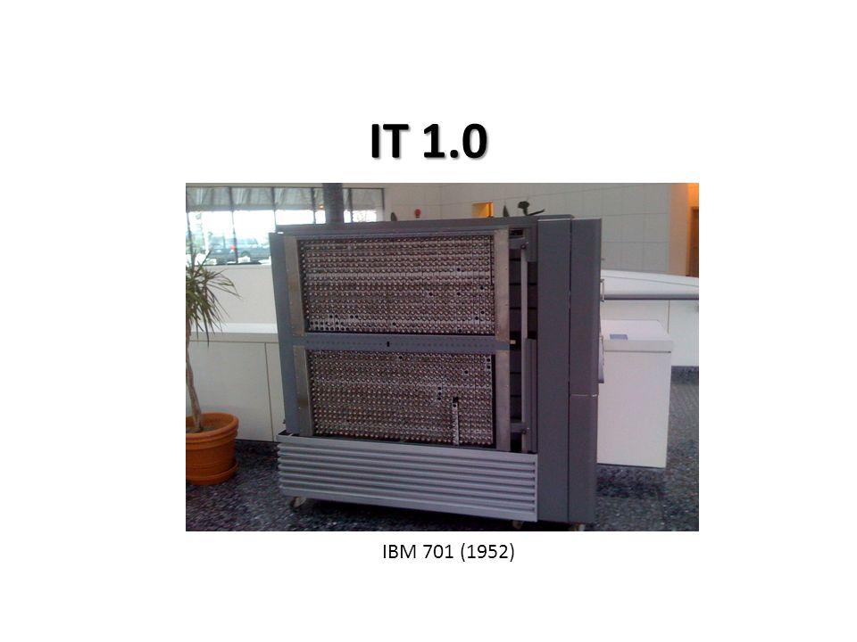 IT 1.0 IBM 701 (1952)