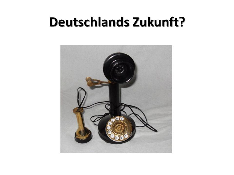 Deutschlands Zukunft Vectoring per Kupferkabel