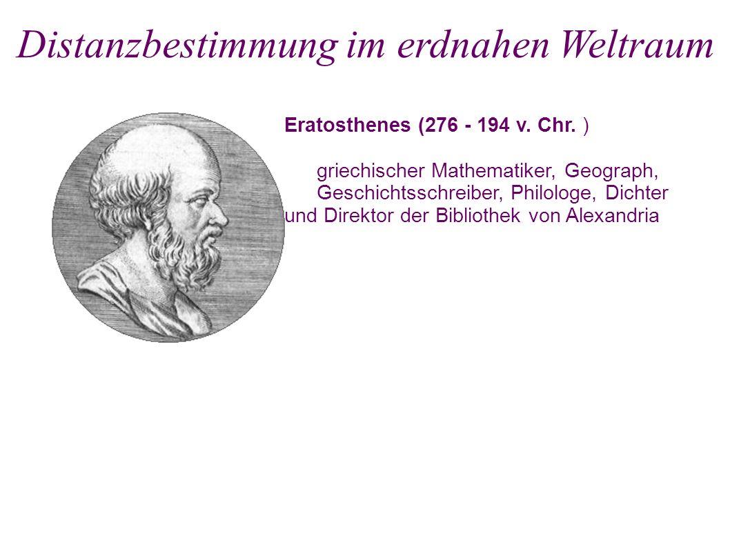 Eratosthenes (276 - 194 v. Chr.
