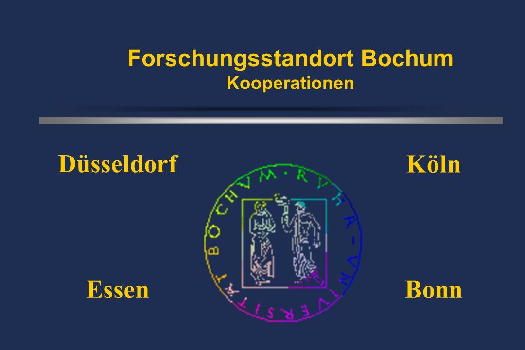 Forschungsstandort Bochum Kooperationen Düsseldorf EssenBonn Köln