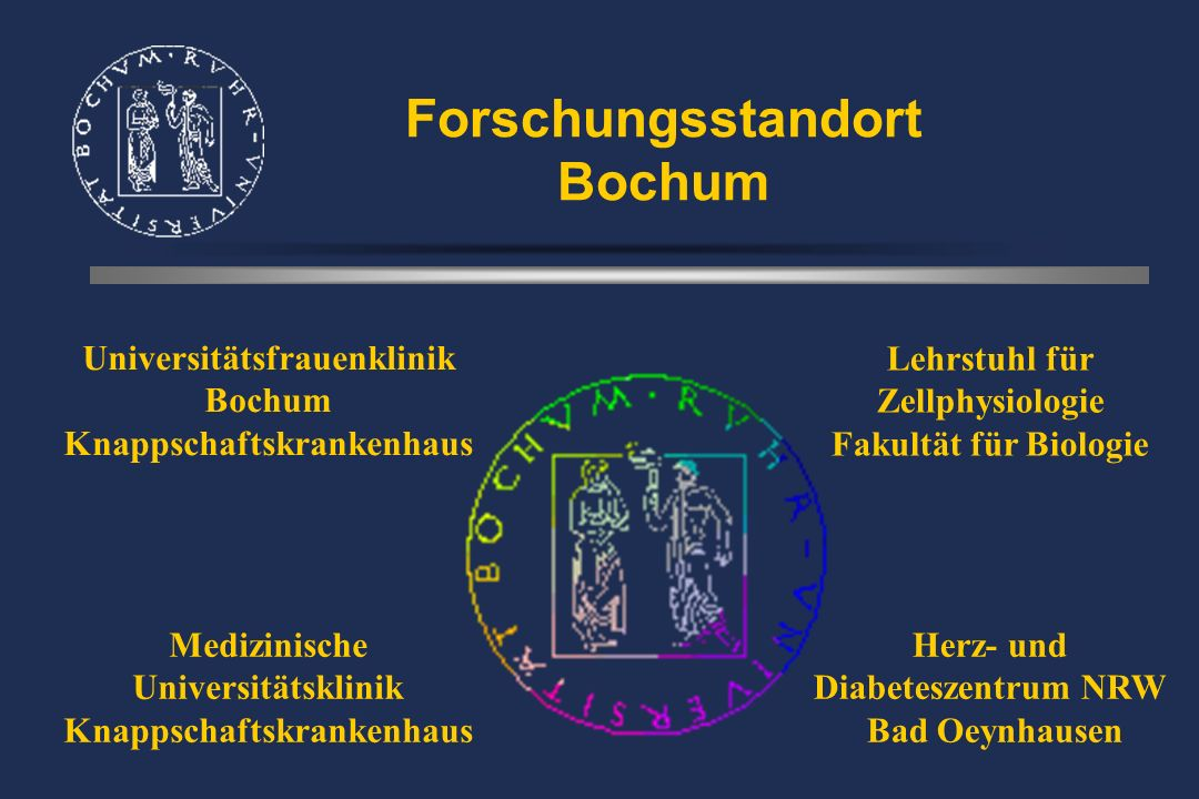 Universitätsfrauenklinik Bochum Knappschaftskrankenhaus Behandlung perinataler - ZNS - Schäden durch Nabelschnurstammzellen A.