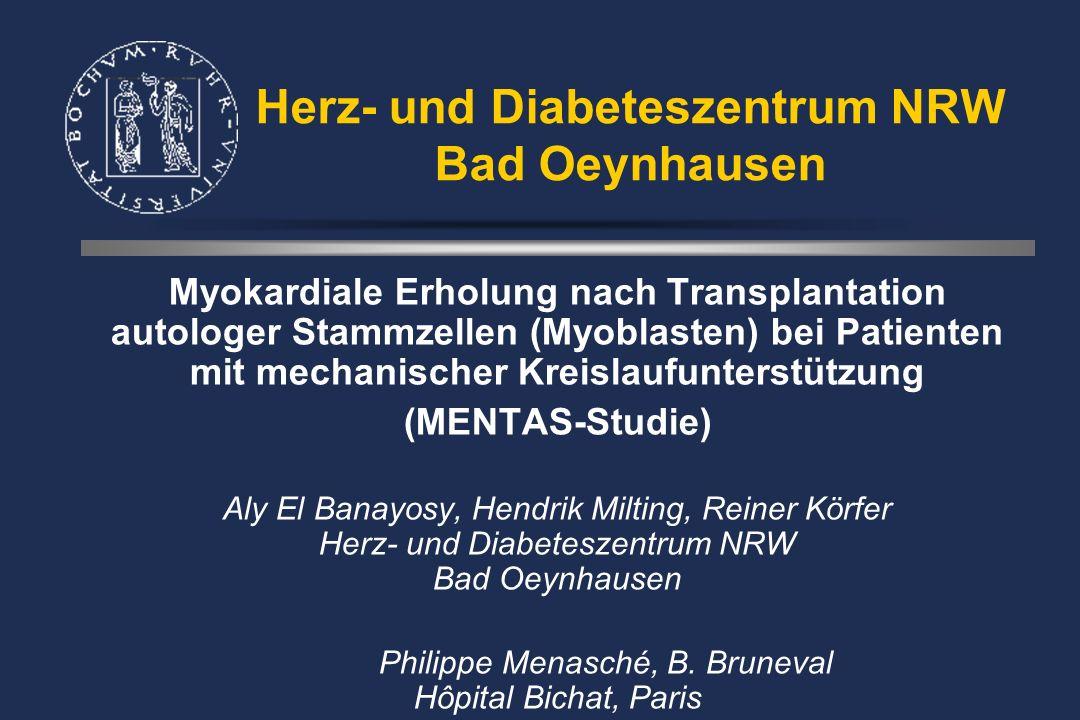 Experimentelles Protokoll OP 0 Std.+24 Std. Nabelschnur- Stammzellen i.v.