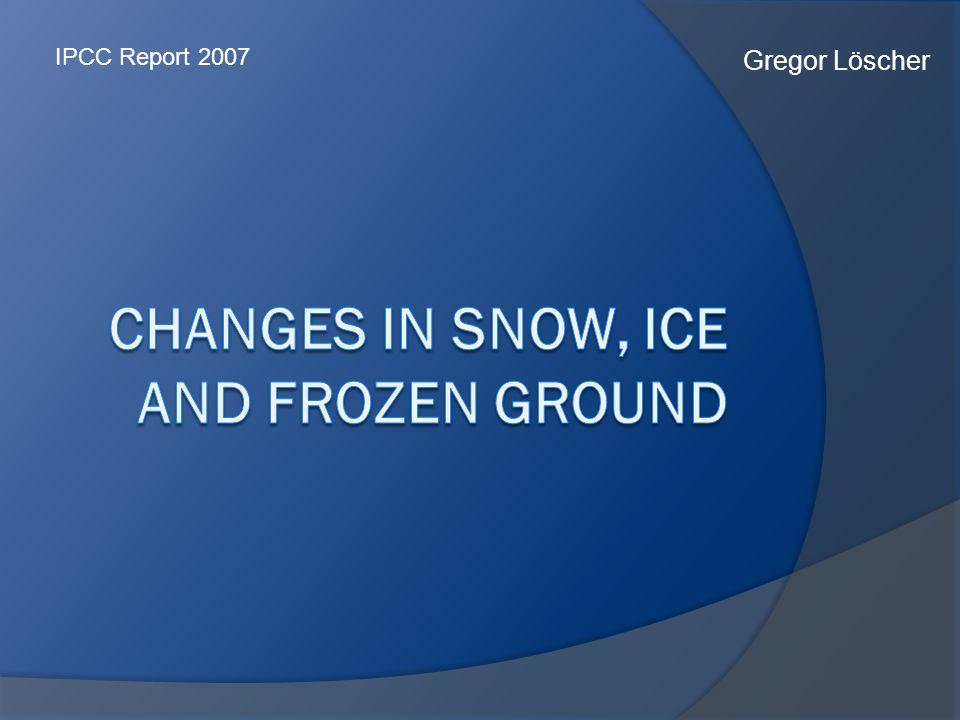 Gregor Löscher IPCC Report 2007