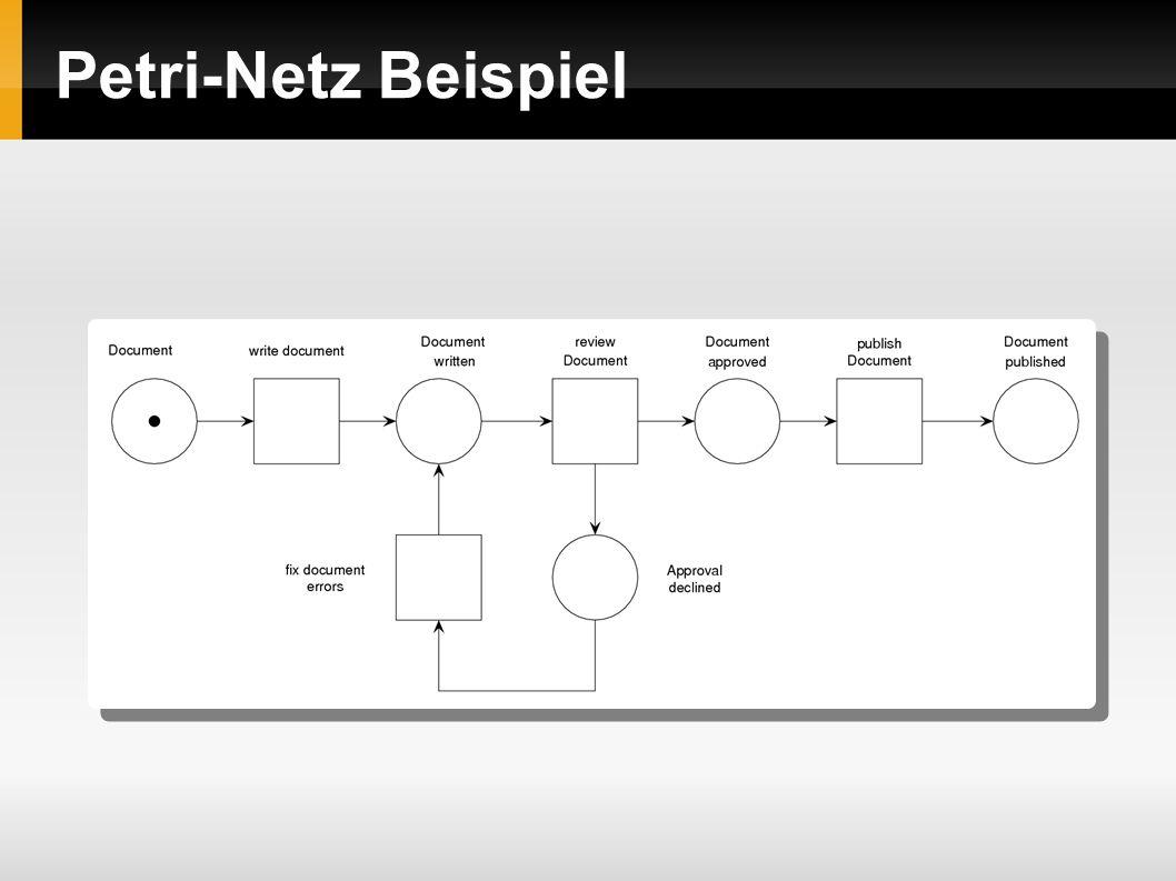 Petri-Netz Beispiel