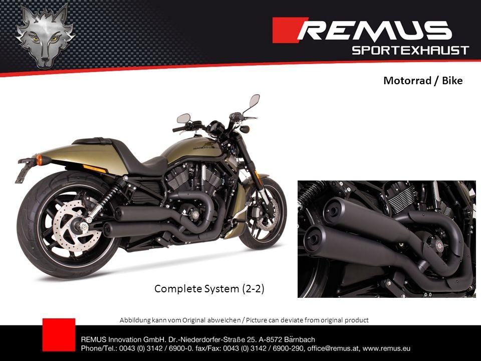Motorrad / Bike Abbildung kann vom Original abweichen / Picture can deviate from original product Complete System (2-2)