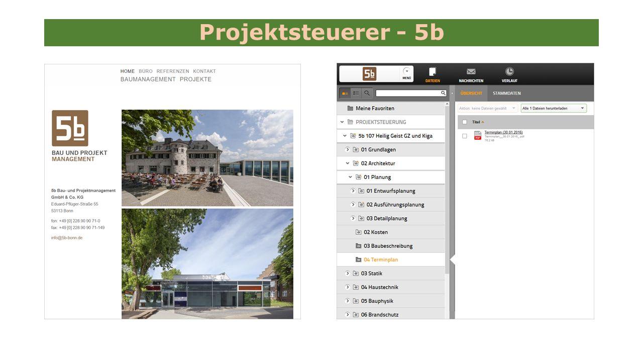 Projektsteuerer - 5b