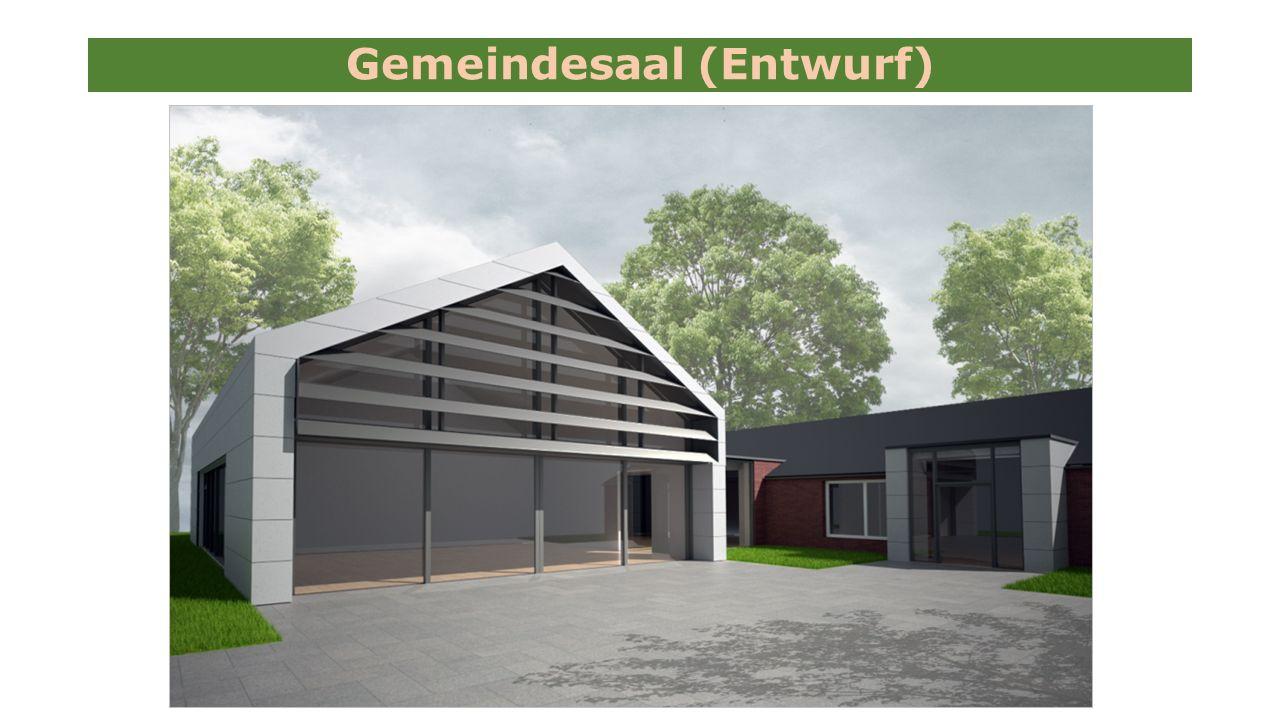 Gemeindesaal (Entwurf)