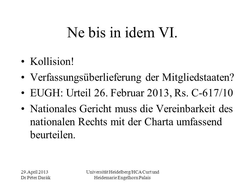 29.April 2013 Dr Péter Darák Universität Heidelberg/HCA Curt und Heidemarie Engelhorn Palais Zugang der Öffentlichkeit I.