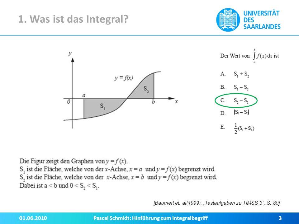 4.Das Integral als Mittelwert Was hat das Integral mit Mittelwertbildung zu tun.