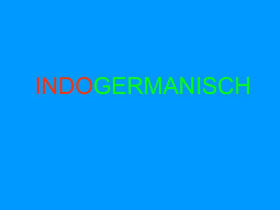 INDOGERMANISCH